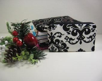 Gift Card Holder Coin Purse,  Mini Glam Pouch, Credit Card Holder, Zipper Pouch, Patchwork
