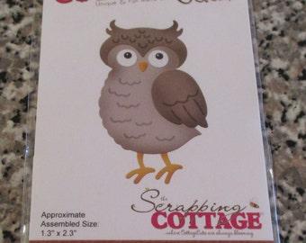 Cottage Cutz, Winter Owl Die