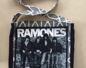 Ramones tshirt bag