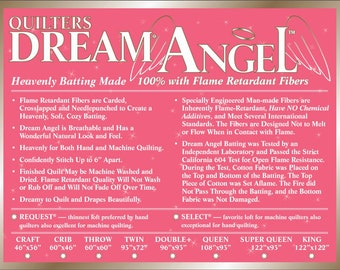 Quilters Dream Batting 2 Pack Throw Size Battings Poly Select and Cotton Natural Request