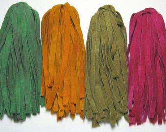 Rug Hooking Wool Strips Foliage Number 8 Dorr Wool Artisan Wools Hand Dyed