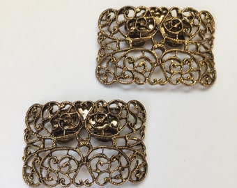 Musi Filigree Shoe Clips