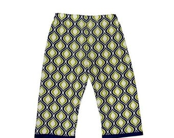 On SALE 60% OFF Blue and Green - Blue Pants - Boys Pants - Toddler Pants - Green Pants -  Nautical Pants - Conscious Children's Clothes - 2t