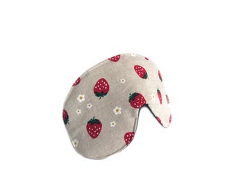 eyemask strawberry canvas adjustable