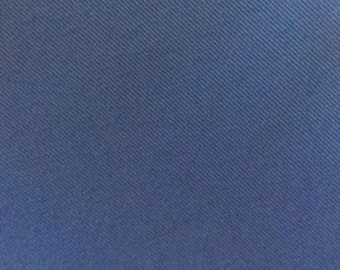 SPECIAL PRICE 12 oz Monaco Blue Twill Pre Shrunk Cotton Fabric Slipcovers Apparel Upholstery