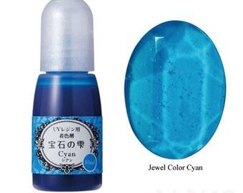 211863 Padico cyan liquid coloring for UV Resin from Japan