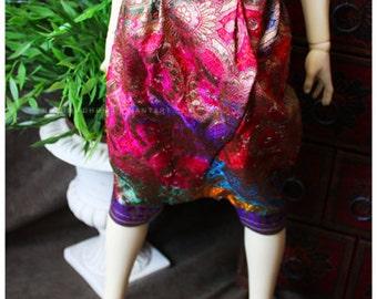 ABJD Dollfie CP Delf sized Rainbow Vintage Fabric Dhoti