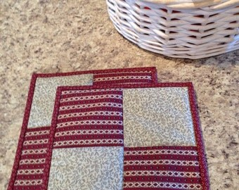 Kitchen Potholders/ Primitive Decor
