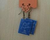 Mini Pride and Prejudice Book Earrings - Jane Austen Book Jewelry - Handmade Book Earrings - Mini Book Jewelry - Handmade Mini Book Earrings
