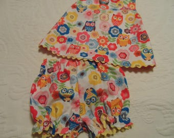 Girls Swing Top and Bloomers Baby Clothes Size 12 months