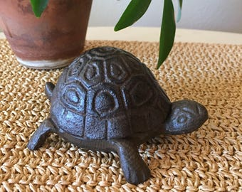 Metal Turtle Trinket Dish