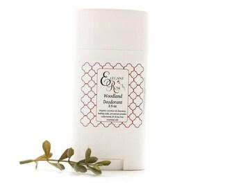 Woodland Natural Deodorant - Essential Oil Deodorant