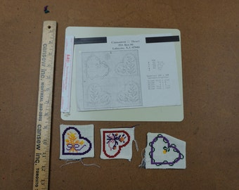Cross Stitch Pattern and Magnet Board