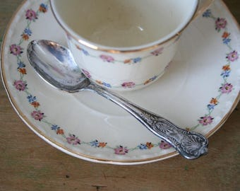 Vintage Teaspoon - International Silver Co, King Pattern, 1977