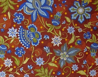 Floral Fabric Caravan By Blank Quilting Paisley