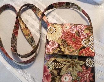 Asian Print Shoulder Bag
