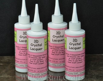 1 Bottle 3D Crystal Lacquer 4 oz (01-03-140)