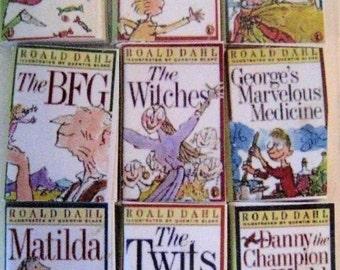 Dollhouse books, childrens books, tiny books, , mini books , twelfth scale,dollhouse accessory