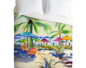 Caribbean Time Duvet Cover