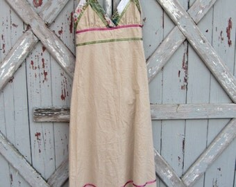 vintage NWT Funky People 90s hippie dress M L