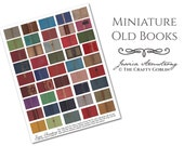 Miniature Old Books Downloadable PDF