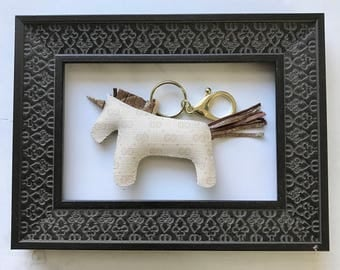 golden GUCCICORN ivory unicorn gucci bagcharm keyring -Ready To Ship!