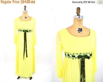 """50% OFF SALE // 1960s chiffon gown 