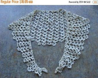 ON SALE Stunning Antique Handmade Victorian  Collar