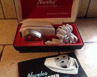 Norelco Trippleheader Speedshaver 35T Razor