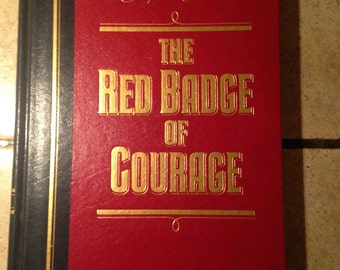 1984 The Red Badge of Courage Classic Book