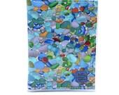 Custom order for Sophie - Passport wallet - sea glass fabric