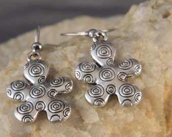 Whimsical Flower Earrings