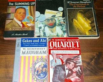 Somerset Maugham Vintage Paperback Book Lot Of 5