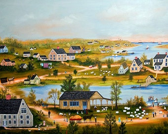 Nantucket Farms - Limited Edition Print _ by J.L. Munro