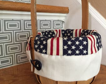 Small Memorial Day/July 4thbasket forkids or decor