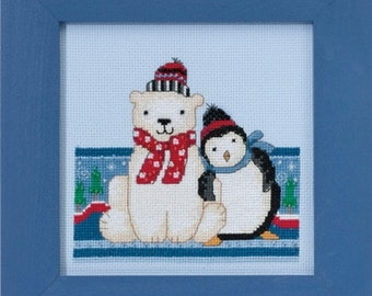 Mill Hill Polar Opposites Polar Peace DM30-1716 Counted Cross Stitch Kit