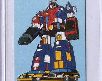 Very Rare 1982-83 Voltron & Armored Fleet Dairugger XV Japanese Card 45125