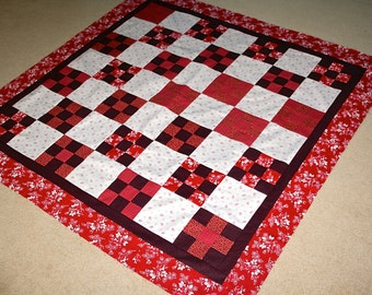 Quilt Top  Clearance Sale French General and Minick and Simpson Lap size