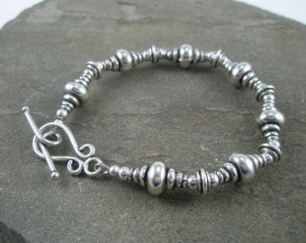 Hills and Valleys in Sterling Silver