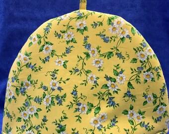 Yellow Daisy Tea Cozy - FREE SHIPPING