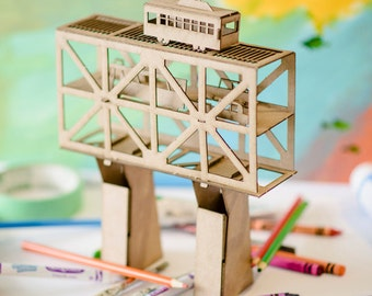High Level Bridge Model Kit