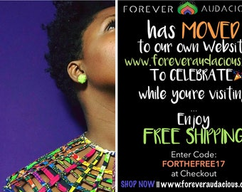 Forever Audacious is MOVING>>>>www.foreveraudacious.com