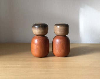 denby teak salt and pepper shakers