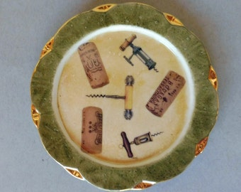 Vintage Corkscrew Wine Coaster