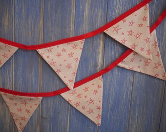 SALE...Christmas Bunting. Christmas Decoration//Christmas Garland// Christmas Banner// Festive Decoration// Scandinavian Bunting.