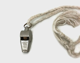 Vintage Sportcraft Whistle from Japan - Cork Ball