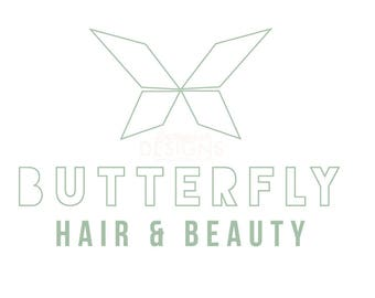 Premade Butterfly Logo Design
