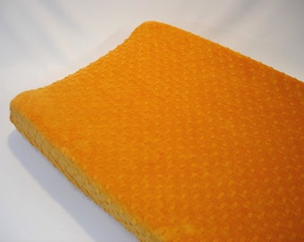 Orange Changing Pad Cover Pumpkin