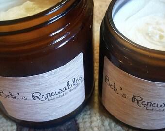 4oz jar Bek's Renewables Homemade Lotion