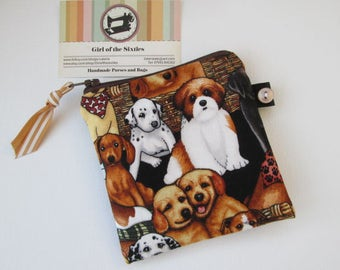 Dogs Credit Card/Coin Purse